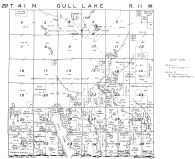 Gull Lake Township, Washburn County 1952